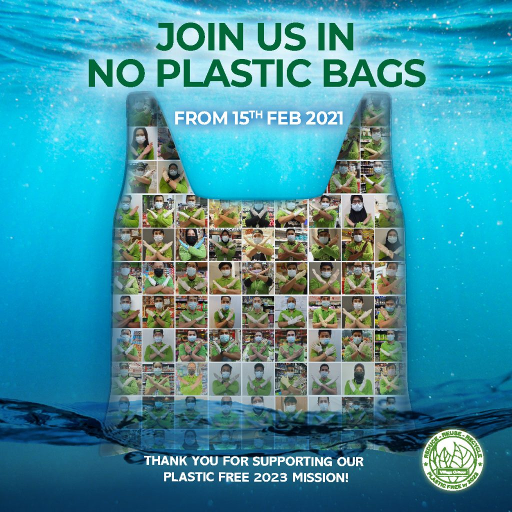 Join Us in No Plastic Bags
